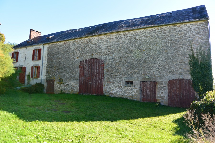 Leggett house for sale in azerables creuse charming 5 for House with barn attached