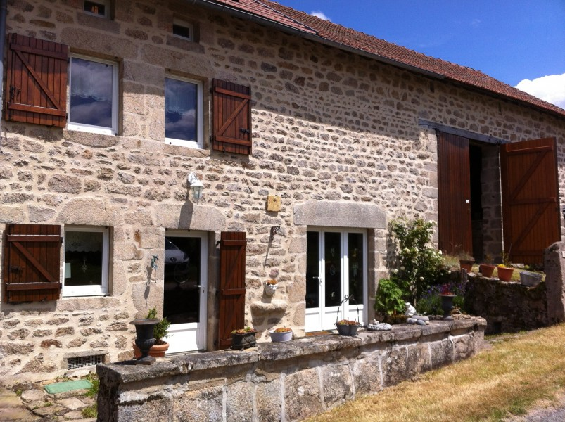 Maison vendre en limousin creuse aubusson long re for Acheter maison creuse