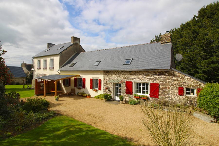 House For Sale In Poullaouen Finistere Exquisite 5