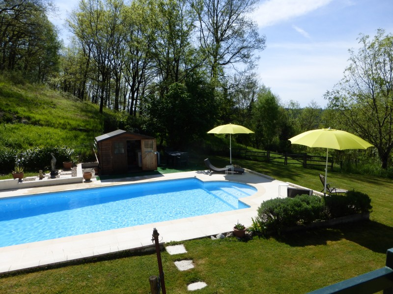 Leggett house for sale in eymet dordogne a superb for Heated pools for sale