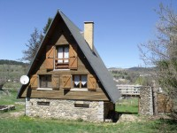 French ski chalets, properties in St Pierre dels Forcats, Espace Cambre d'Aze, Pyrenees - Orientales