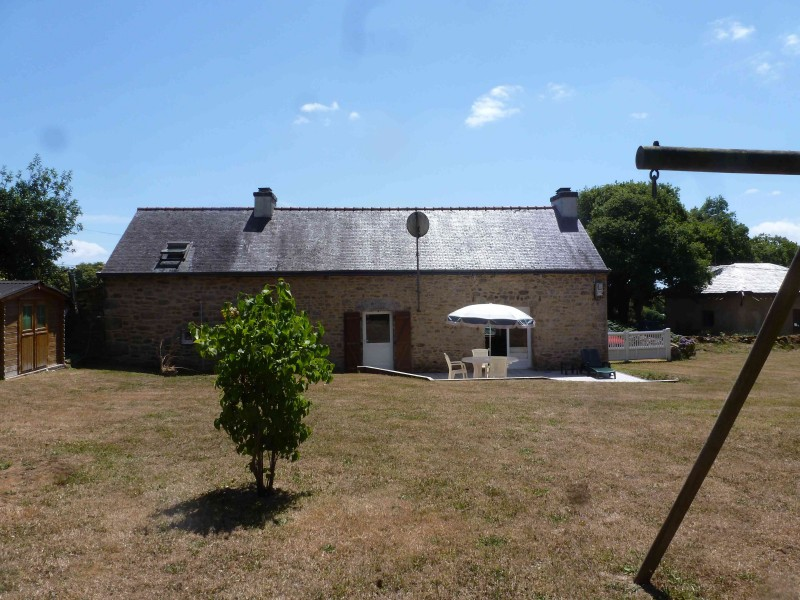 Maison vendre en bretagne finistere st thurien for Jardin pittoresque