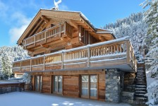 French ski chalets, properties in Meribel Centre, Meribel, Three Valleys