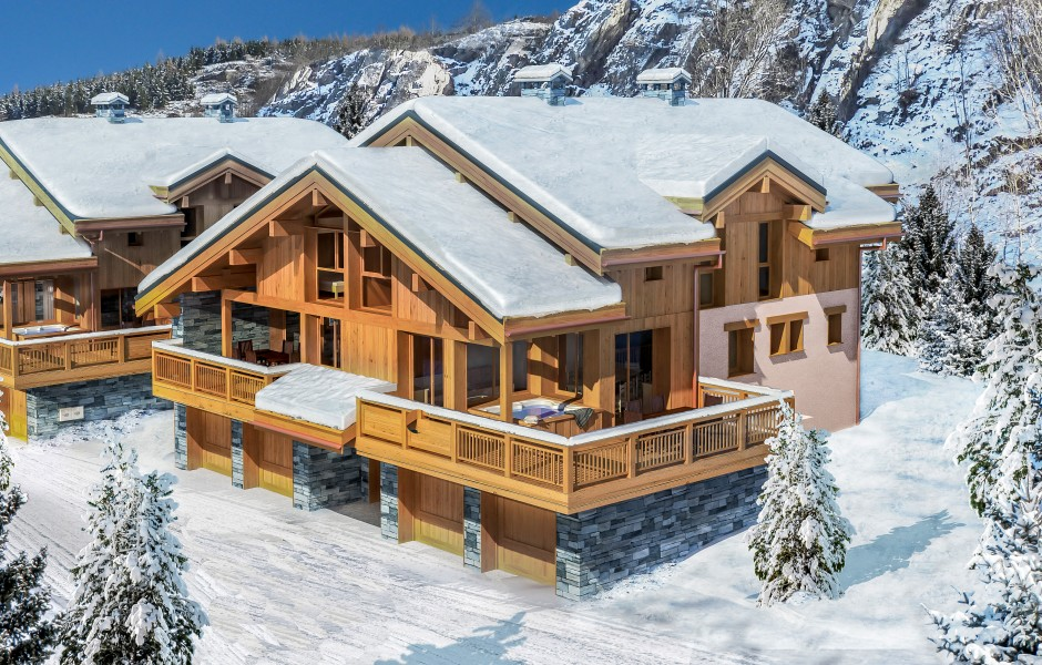 Chalet for sale in st martin de belleville savoie ski for French chalet house plans