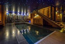 French ski chalets, properties in Meribel Hamlet, Meribel, Three Valleys