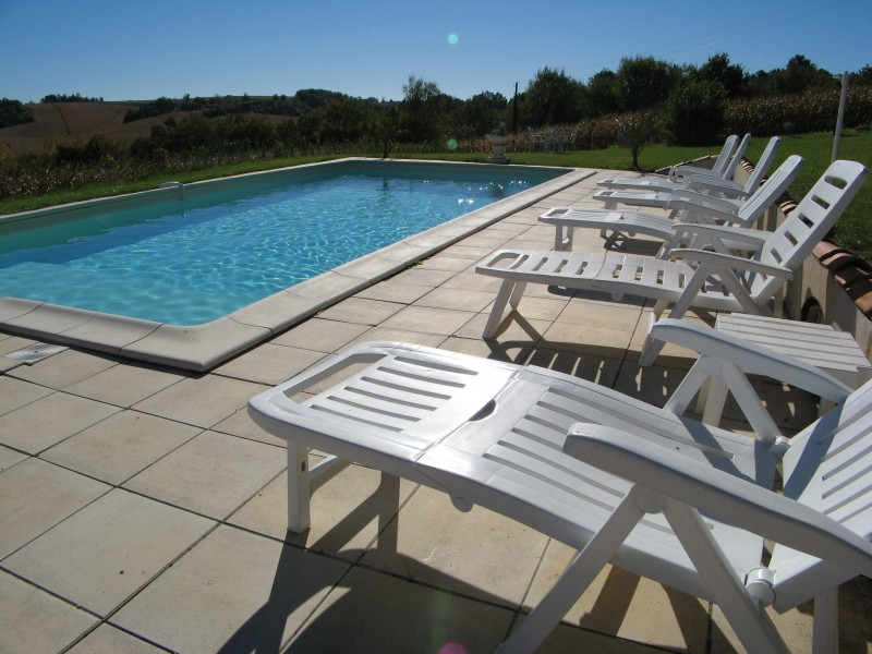 Leggett House For Sale In Celles Dordogne Nice Mansion House With Side Buildings Swimming