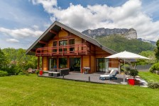 French ski chalets, properties in Alex, La Clusaz, Massif des Aravis