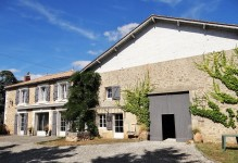 French property latest addition in ST SORNIN Charente
