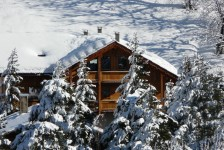 French ski chalets, properties in Villeneuve, Briancon, Serre Chevalier