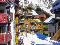 French ski chalets, properties in , Les Arcs, Paradiski